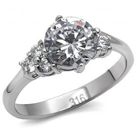 Stříbřený náhrdelník s kroužkem