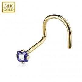 Stříbrný náhrdelník klíček