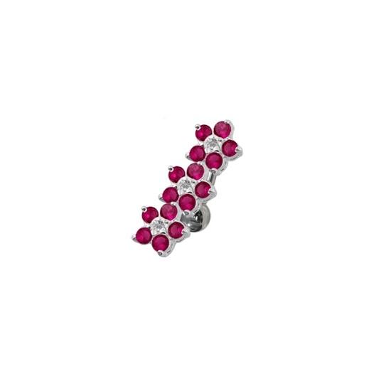 Zlacený stříbrný prsten s přírodní perlou, velikost prstenu 58