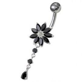Kožený náhrdelník splétaný - ocelový uzávěr, tl. 4 mm