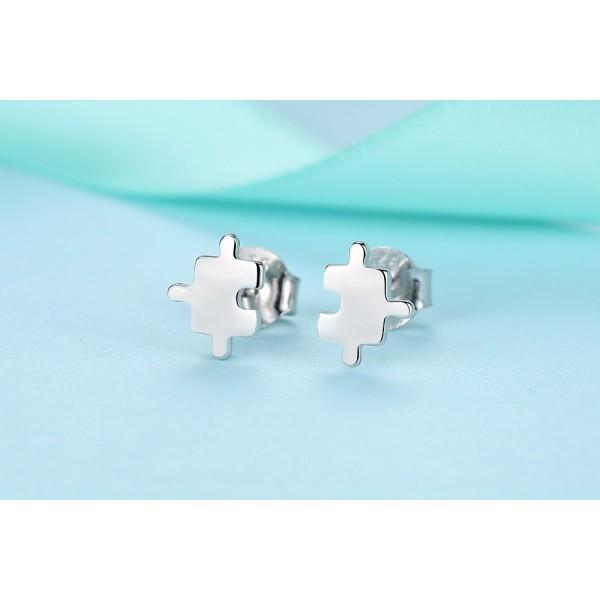 Naušnice stříbrné E1243 perla bílá