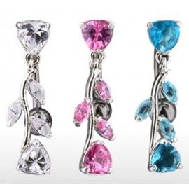 Set šperků z chirurgické oceli, infinity - ležatá osmička