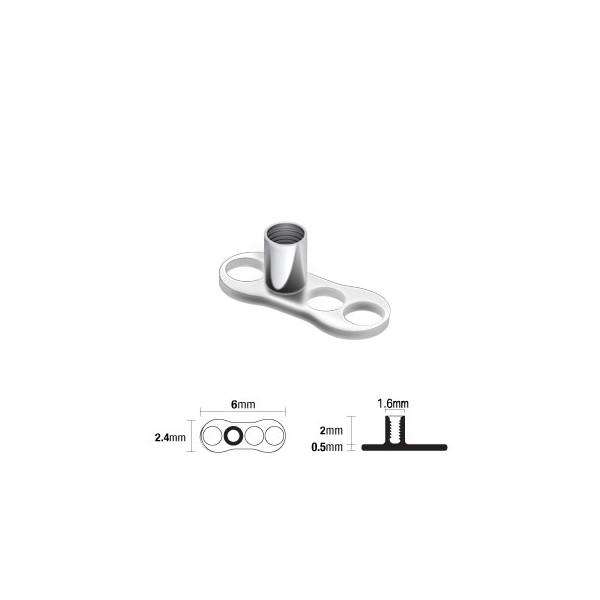 Stříbrné náušnice perličky 6 mm