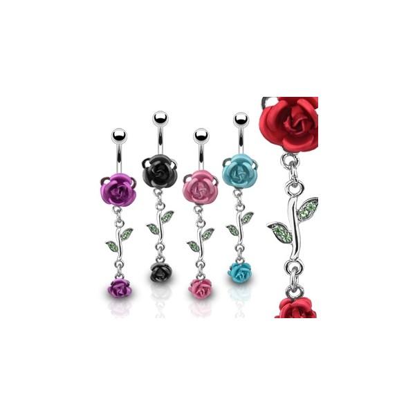 Moderní ocelové náušnice - perličky/kuličky černé