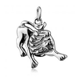 Stříbrný náramek, délka 19 cm