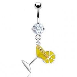 Bižuterní náhrdelník s Achátem a perlami - květina