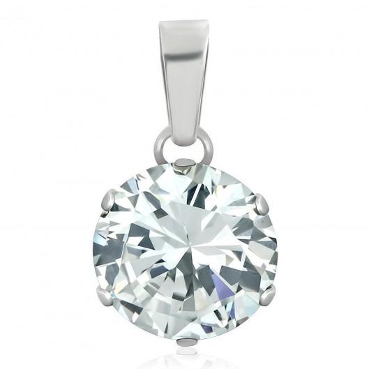 Snubní ocelový prsten pro ženy KMR9599-Z