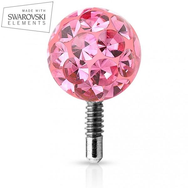 Stříbrný řetízek hádek Diamond Octagon 1mm, DELKARETIZKU 38 cm