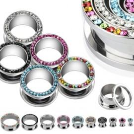 Silvego stříbrný set se Swarovski(R) Crystals Helix