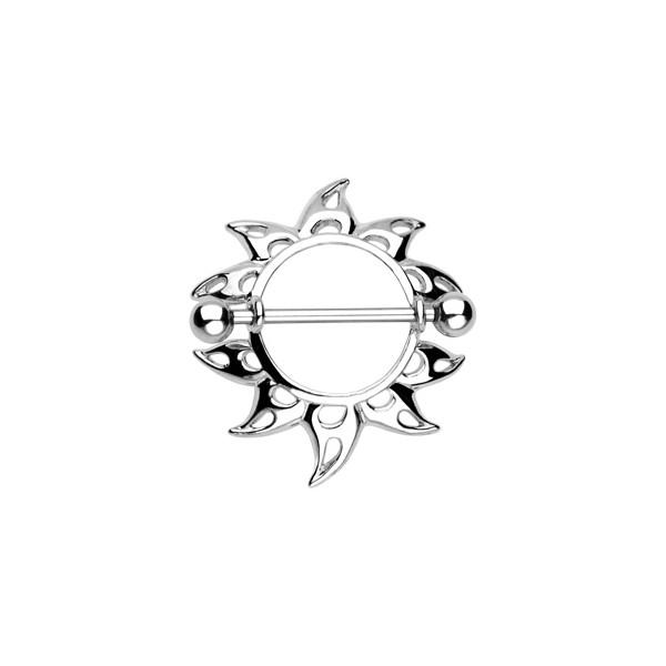Stříbrný řetízek CURB 5 mm - rhodiovaný