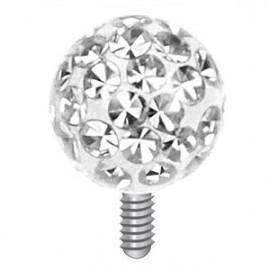 Stříbrný přívěsek MELIA s perlou a rubínem