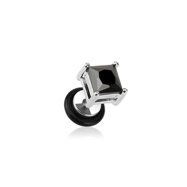 Swarovski(R) Crystal Stříbrný prsten DARION se Swarovski Zirconia, VELIKOSTPRSTENU obvod 48 mm