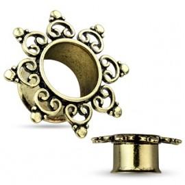 CHUNKY pozlacený náhrdelník z akrylu