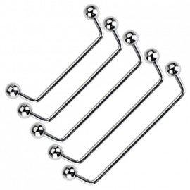 Stříbrný pánský masivní řetěz CURB 13 mm - rhodiovaný