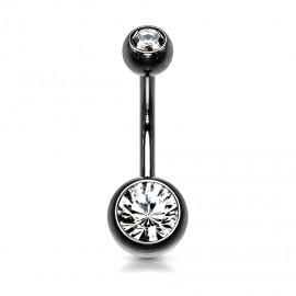 Stříbrný náhrdelník pozlacený s přívěskem čtyřlístek
