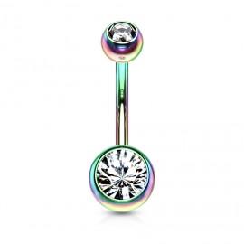 Stříbrný náhrdelník s přívěskem čtyřlístek