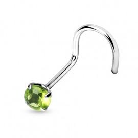 Silvego stříbrný set se Swarovski(R) Crystals kapka Vitrail Light