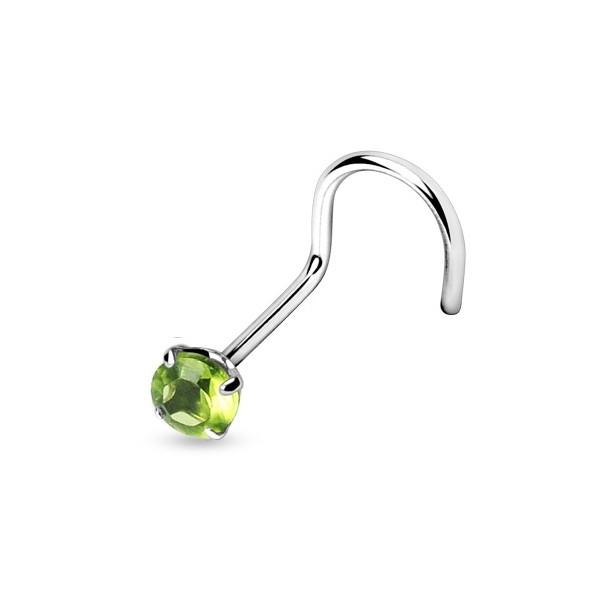 Swarovski(R) Crystal Silvego stříbrný set se Swarovski(R) Crystals kapka Vitrail Light