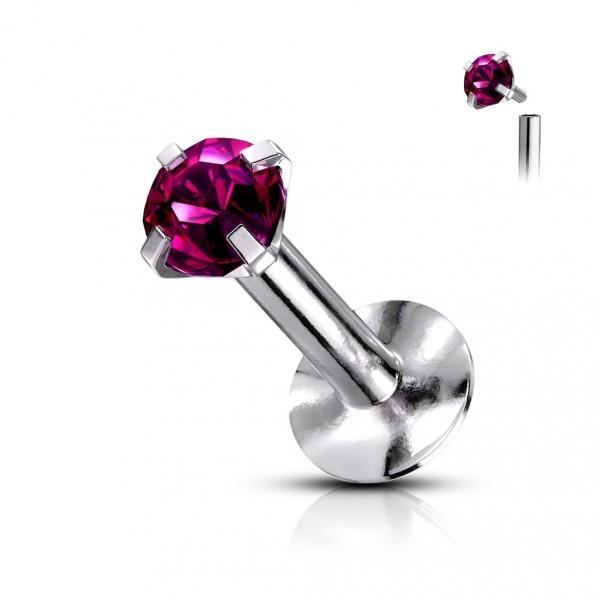 Přívěsek PSSW01 aqua s krystaly Swarovski Elements