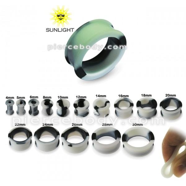 Naušnice stříbrné E1190 perla černá