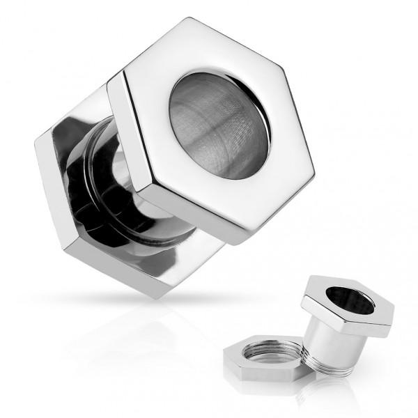Swarovski(R) Crystal Stříbrný přívěsek čtverec 11mm se Swarovski Elements