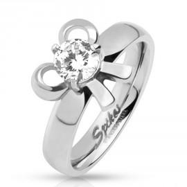 Stříbrný přívěšek koule 10 mm, SWAROVSKI® el, Crystal AB