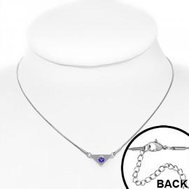 Stříbrný přívěšek s krystalem Crystals from Swarovski®, kostka Crystal AB
