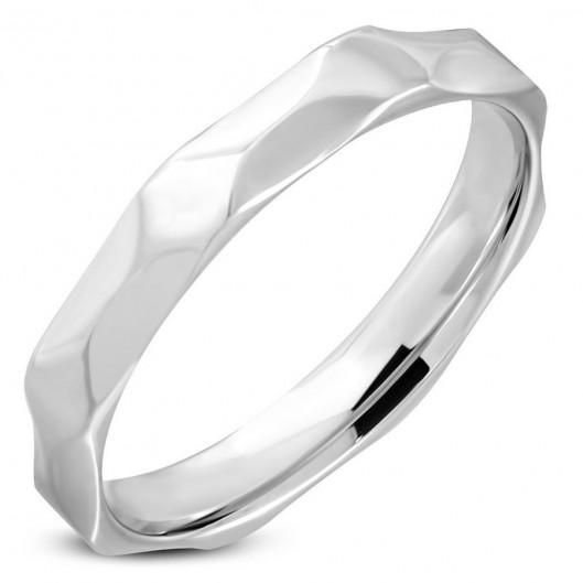 OPR1334 Dámský snubní prsten šíře 4 mm