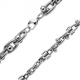 Piercing obočovka chirurgická ocel s krystalky HWESD0104