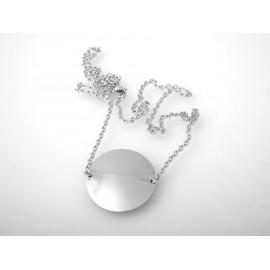 Ocelové náušnice s krystaly Swarovski®, AMETHYST