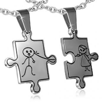 Stříbrný náhrdelník křížek
