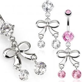 Náhrdelník s přírodním růženínem a perlami