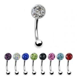SILVEGO náramek VALENTINA z chirurgické oceli se Swarovski(R) Crystals
