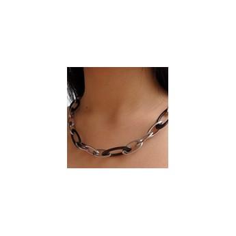 Stříbrný náhrdelník se zirkonem a nekonečnem
