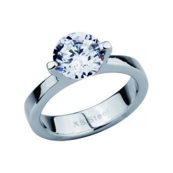 Stříbrný přívěšek kříž s krystaly Crystals from Swarovski®, AB