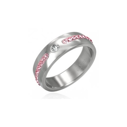Pánský matný ocelový prsten, velikost prstenu 62