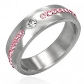Pánský matný ocelový prsten