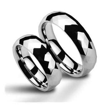 """Matný ocelový prsten """"DAD"""""""