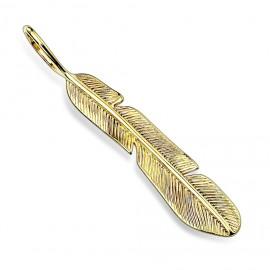 Ocelové náušnice s krystaly Crystals from Swarovski®, GOLDEN CHOCOLATE
