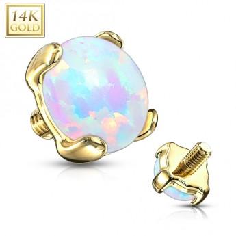 Navlékací přívěšek korálek s krystaly Swarovski®, CAPRI BLUE