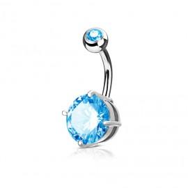Navlékací přívěšek korálek SLIM s krystaly Swarovski®, ROSE