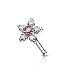Náhrdelník NSSW02 rose s krystaly Swarovski Elements