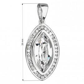 Dárkový sáček stříbrný matný 60 x 70 mm