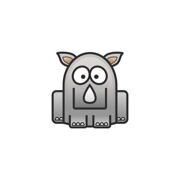 Ocelové náušnice - ještěrka