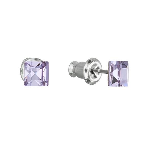 Naušnice kroužky chirurgická ocel s kamínkem LXXE183