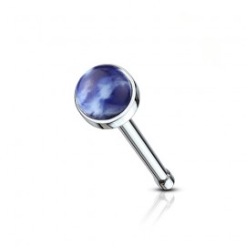 Naušnice ESSW23 aqua s krystaly Swarovski Elements