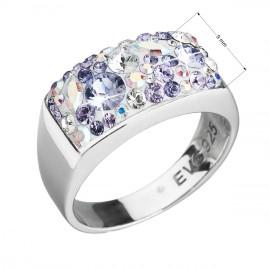 Prsten na nohu s květinovým motivem