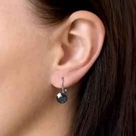Stříbrný piercing do nosu - půlkulička (špička)