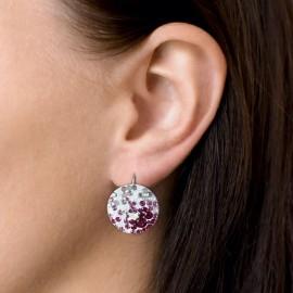 Stříbrný piercing do nosu - kamínek