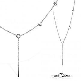 Šňůrka na krk černá, 6 x 0,6 mm